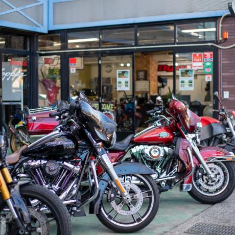 レンタルバイク事業