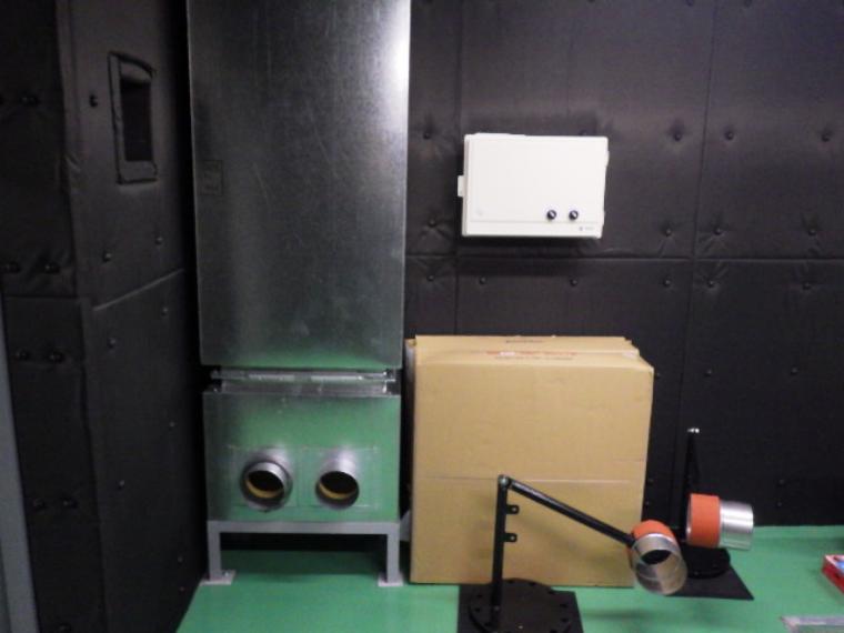 シャーシダイナモ吸排気循環システム